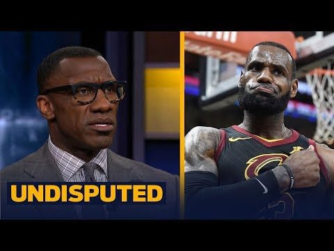 Shannon Sharpe reacts to Lebron James' buzzer-beater in Pacers vs Cavs Game 5   UNDISPUTED