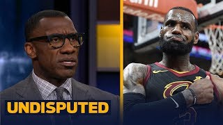 Shannon Sharpe reacts to Lebron James