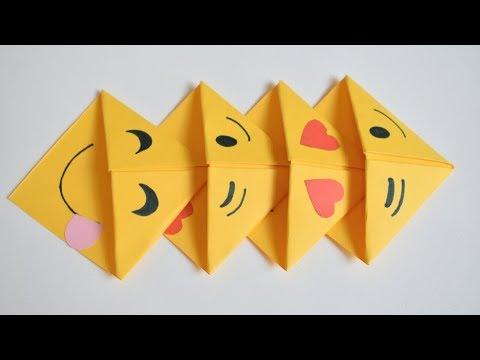 Easy Emoji Corner Bookmarks | DIY | Back to School Projects | Crafts for Kids | DIY Bookmarks Ideas