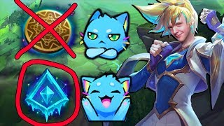 Reworked Ezreal DOESN'T use Kleptomancy?? GLACIAL AUGMENT EZ OP BABY