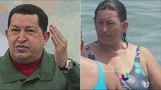 Una foto de una mujer que se parece a Hugo Chávez está causando gran revuelo