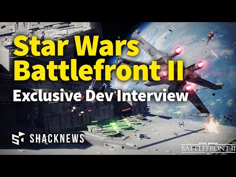 Star Wars Battlefront II Exclusive Dev Interview