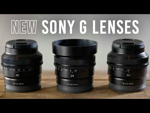 Sony Announces FE 24mm f/2.8 G, FE 40mm f/2.5 G, and FE 50mm...
