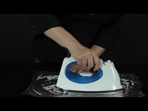 How to Clean the Surface of the Irons with Aluminum Foil- HomeArtTv por Juan Gonzalo Angel