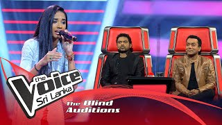 Amriytha Amarnath - Pinga | Blind Auditions | The Voice Sri Lanka Thumbnail