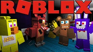 SECRET BACCA - ROBLOX FIVE NIGHTS AT FREDDY'S ANIMATRONIC WORLD ROLEPLAY (FNAF 6 LEFTY'S PIZZERIA)