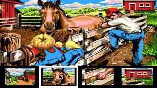 AMIGA Katie's Farm AMIGA OCS 1990 Lawrence ProductionsDisk 1 Of 2 WB Adf