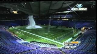 ★HOLY BRETT FAVRE★ Metrodome Roof Collapse Under Snow; NFL Moves Giants/Vikings Game
