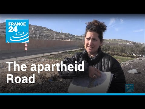 The 'apartheid road': West Bank highway sparks controversy