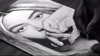 Beyonce Drawing - DeMoose Art