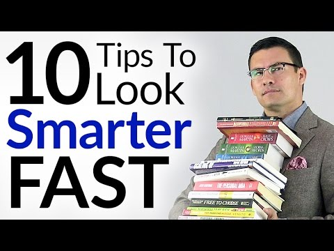 9b149fa3668b 10 Tips To Look Smart Fast | Quickly Appear More Intelligent With ...