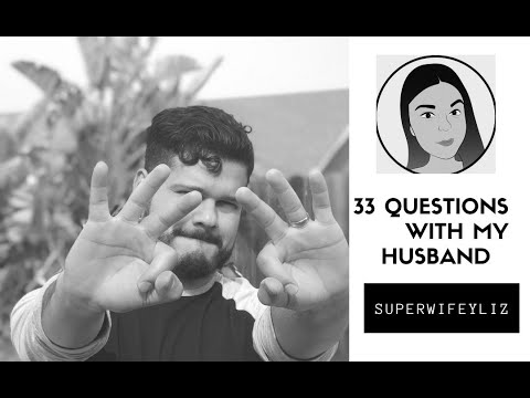 33 Questions with My Husband