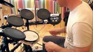 Упражнения для начинающих барабанщиков (урок 10)