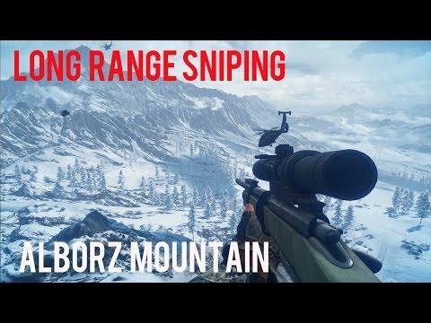 LONG RANGE SNIPING-ALBORZ MOUNTAIN-BATTLEFIELD 3