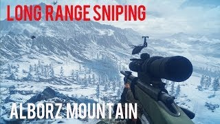 LONG RANGE SNIPING-ALBORZ MOUNTAIN-BATTLEFIELD 3