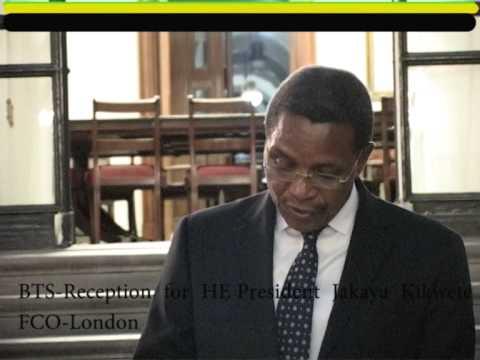 BTS Reception  for H.E  Jakaya Kikwete-the  President  of  Tanzania@FCO London  2014