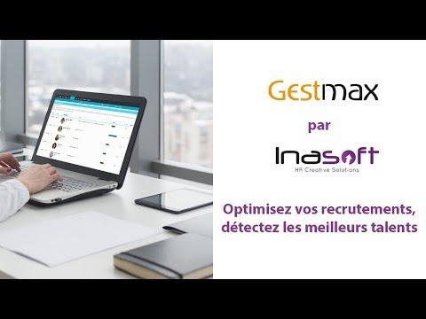 Présentation du logiciel de recrutement Gestmax