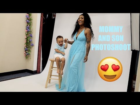 SURPRISE MOMMY AND SON PHOTOSHOOT WITH A SPECIAL ANNOUNCEMENT!!!