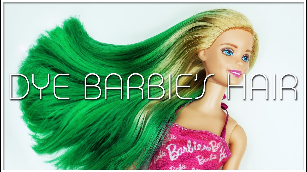 How To Dye Barbies Hair Come Tingere I Capelli Alle Nostre