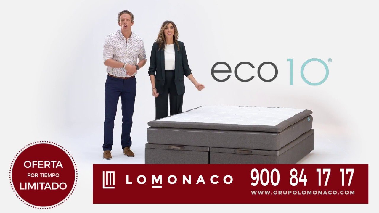 Colchon Lo Monaco Con Descuento Mas Cheque Regalo Youtube