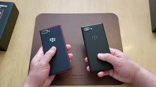 BlackBerry KEY2 vs KEY2 LE (Comparison Video)