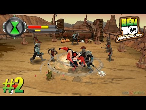 Ben 10: Protector of Earth - PSP Playthrough 1080p Mesa Verde  (PPSSPP) PART 2