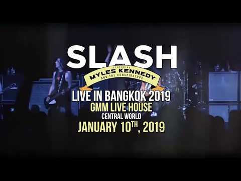SLASH Feat. Myles Kennedy Live in Bangkok 2019 Mp3
