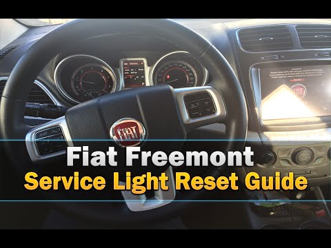 Fiat Freemont Oil Life Service Light Reset