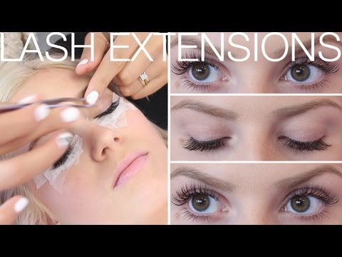 ♡ All About Eyelash Extensions! ♡ FAQ's & Application ft SaturdayNightsAlrite