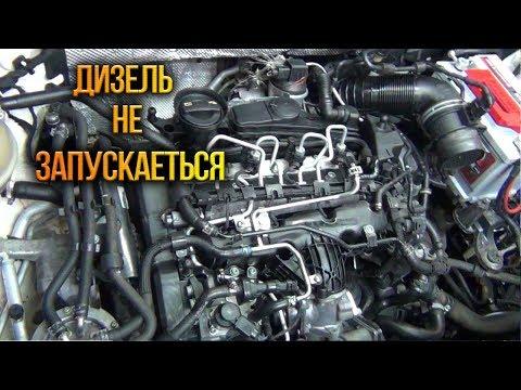 Volkswagen Tiguan 2.0tdi заводится и глохнет