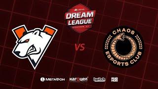 Virtus.pro vs Chaos Esports Club, DreamLeague Season 11 Major, bo3, game 2 [Smile & Godhunt]