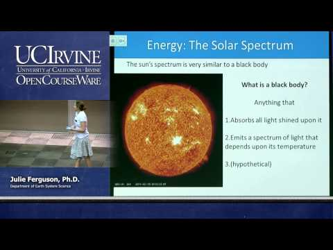 ESS 5. Lec 03. The Atmosphere: Solar Radiation and the Seasons