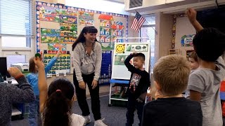Rhyming Game With Singing And Movement