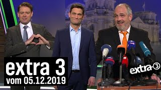 Extra 3 vom 05.12.2019