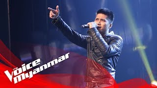 rဇာနည္ ကမာၻသား live semi final the voice myanmar 2018