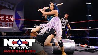 Mia Yim vs. Candice LeRae – Street Fight: NXT Great American Bash, July 8, 2020