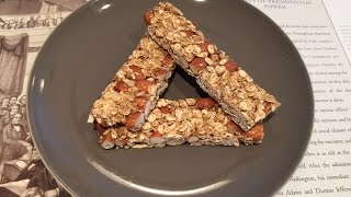 Homemade, Healthy And Delicious Granola Bar