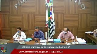 Câmara Municipal de Colina - 12ª Sessão Ordinária 17/08/2020