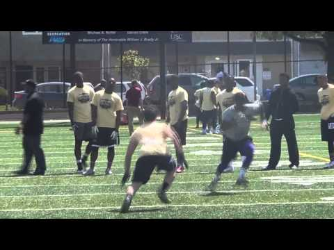 All-State Football Camp -Philly - Best of WR/DB - LB/RB 1V1