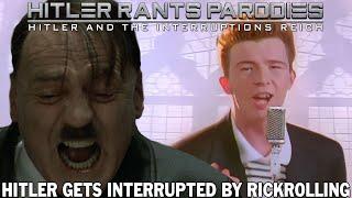 Hitler gets interrupted by Rickrolling