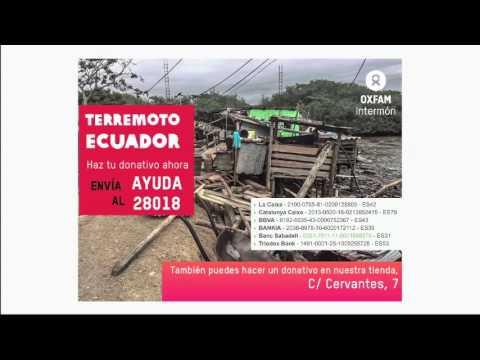 Intermon Oxfam con Ecuador