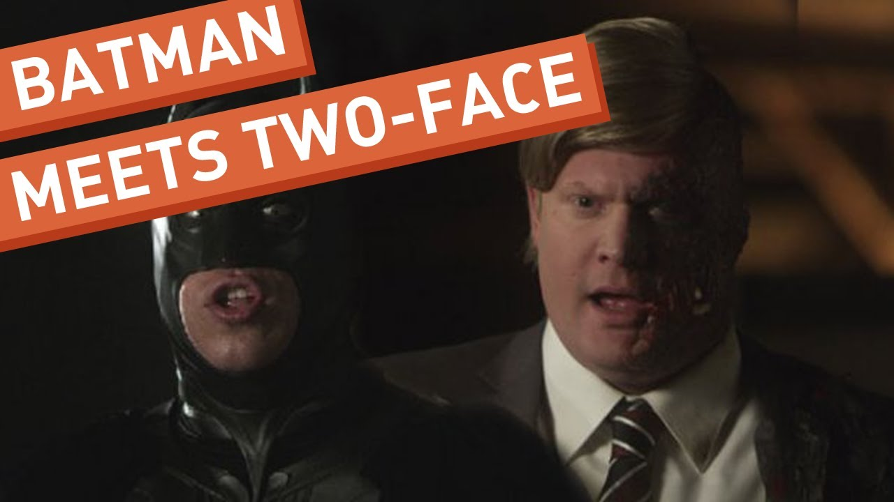 Batman Meets Two Face Youtube