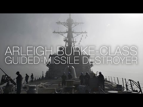 A Day In The Life Of A U.S. Navy Destroyer - Arleigh Burke-class USS Carney