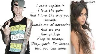 Machine Gun Kelly & Camila Cabello Bad Things Lyrics