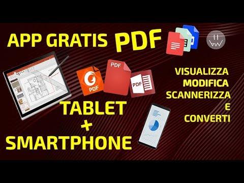 Miglior App Per PDF Gratis! Convertire Editare E Visualiizzare