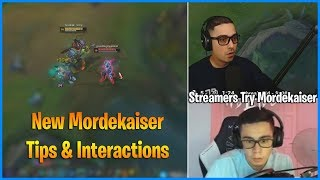 how to reject Mordekaiser's Ult   Streamers try New Mordekaiser   LoL Daily Moments Ep 479