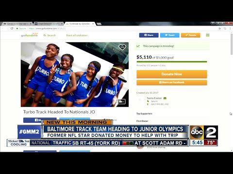 Chad Johnson helps to send a Baltimore track team to the Junior Olympics
