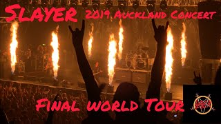 Slayer 2019 Final World Tour Concert (1080P HD) Full Concert-Auckland New Zealand 15/03/2019