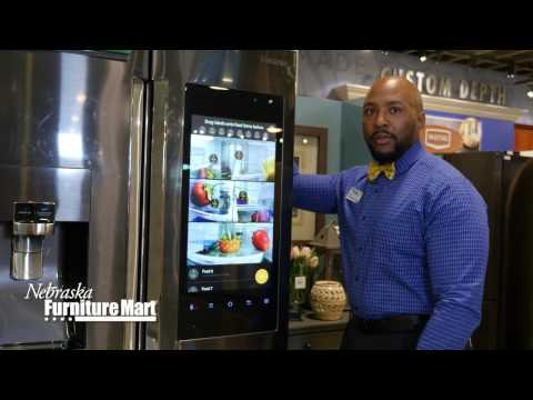 A Look at the Ultra-Cool Samsung 4-Door Flex Family Hub Refrigerator