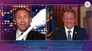 Governor Cuomo's hilarious reaction to brother Chris' nose swab joke | USA TODAY Entertainment